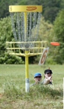 Collegiate disc golfers to converge on North Augusta for tournament