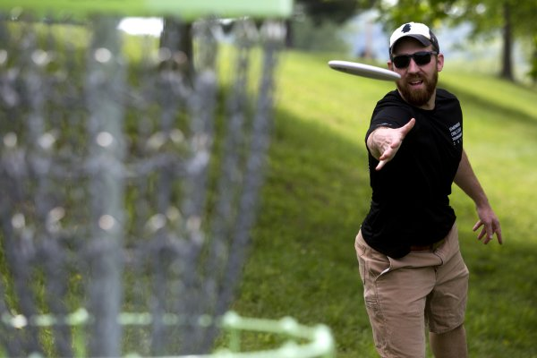Disc golf course brings unique view of archabbey