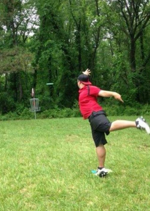 Saginaw Valley's Kenneth Mize is competing at AM NATS