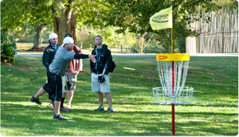 Winthrop University: News & Events – Disc Golf Ends Its Season at Winthrop This Week
