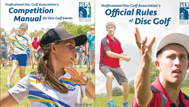 2018 Official Rules of Disc Golf & Competition Manual for Disc Golf Events Released