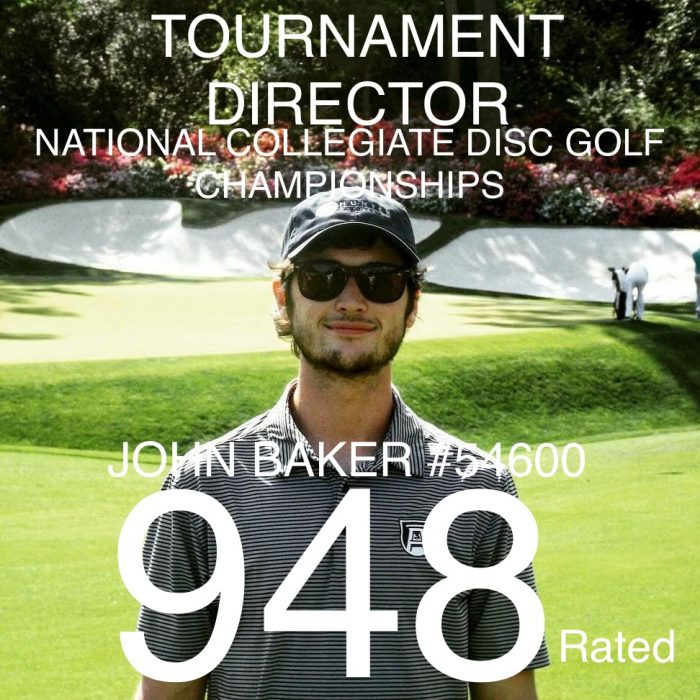 MEET YOUR NCDGC TD:  JOHN BAKER