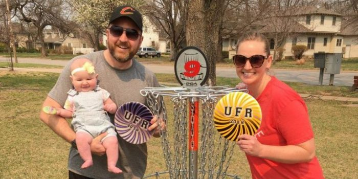 Campus disc golf course pays tribute to alumnus' love for the game and college