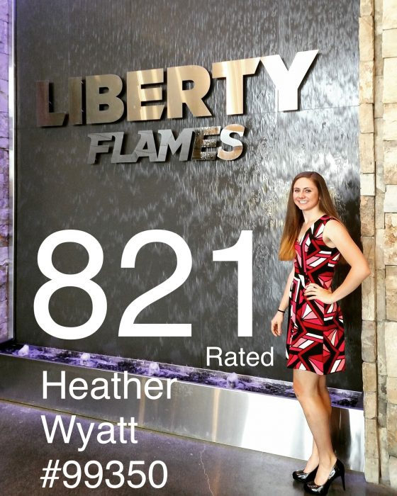 EXCLUSIVE: Heather Wyatt #99350 from LIBERTY UNIVERSITY