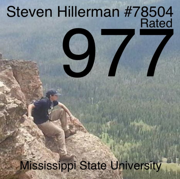 EXCLUSIVE:  STEVEN HILLERMAN from MISSISSIPPI STATE