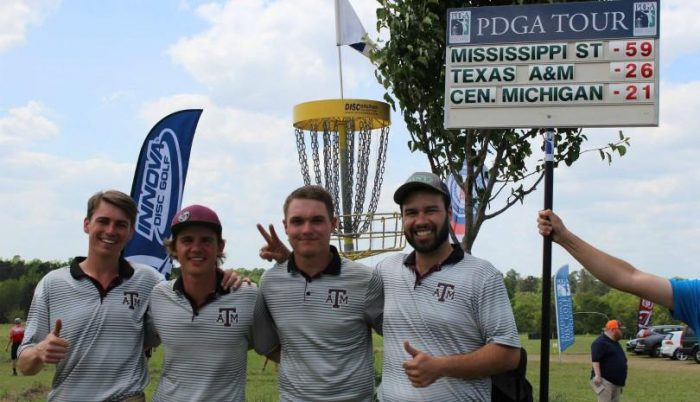 Texas A&M Disc Golf finishes 2nd at PDGA National Championships in Augusta