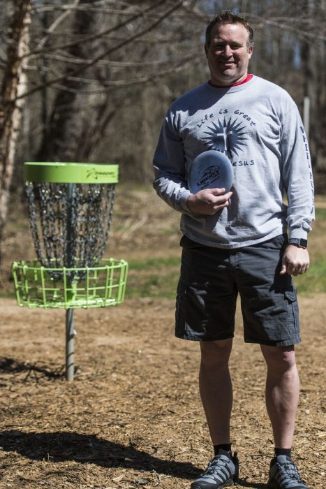 Disc golf course designer Steve Bowman turns passion into profession