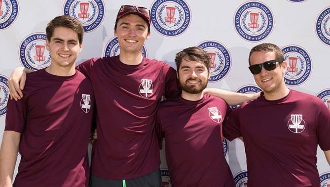 UMass-Amherst's Antosca Wins NCDGC First Flight